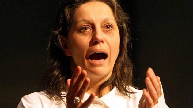 Žena a Megera se jmenuje nová inscenace v Malém divadle v Liberci. V hlavní roli umírající ženy hraje Markéta Tallerová.