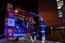 Požár na harcovských kolejích