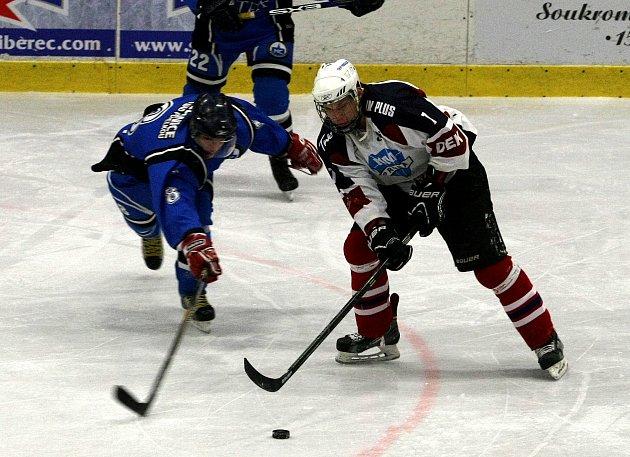 Slavoj Liberec - - HC Lomnice 2:3 (1:1, 0:1, 0:2)
