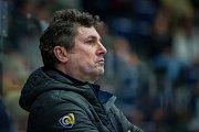Utkání 18. kola Tipsport extraligy ledního hokeje se odehrálo 14. listopadu v liberecké Home Credit areně. Utkaly se celky Bílí Tygři Liberec a PSG Berani Zlín. Na snímku je trenér Robert Svoboda.