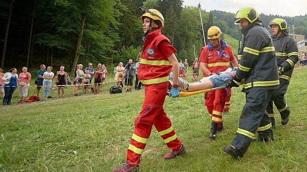 Cvičení nazvané Liberecká P155