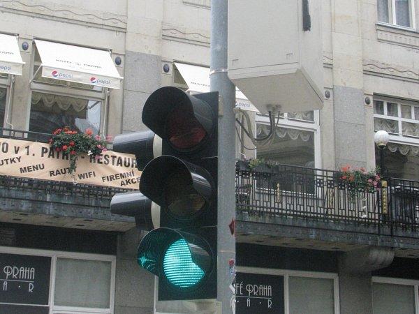 Semafor vLiberci.