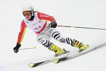 Slalom žen na Ještědu.