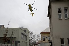 TEST. Do nemocnice přiletěl vrtulník. Na zkoušku.