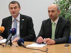 Koalice Starostové pro Liberecký kraj (Martin Půta) a Změna pro Liberecký kraj (Jan Korytář).