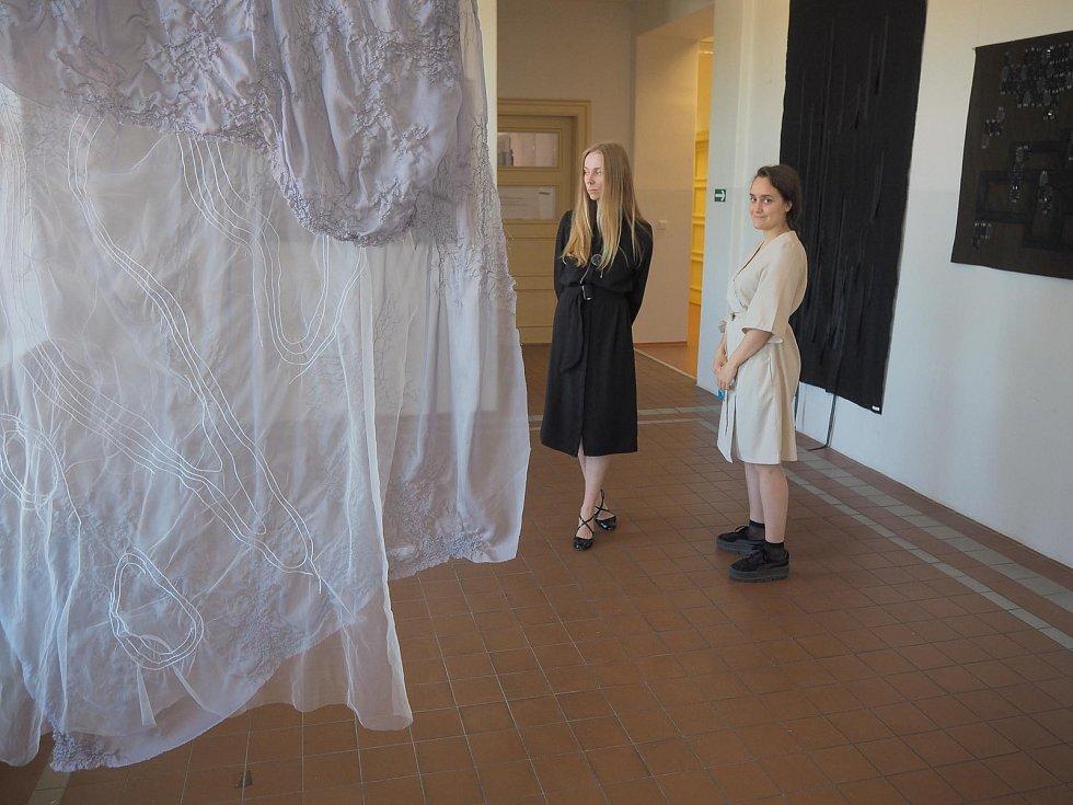 Interiérový textil v budově B.
