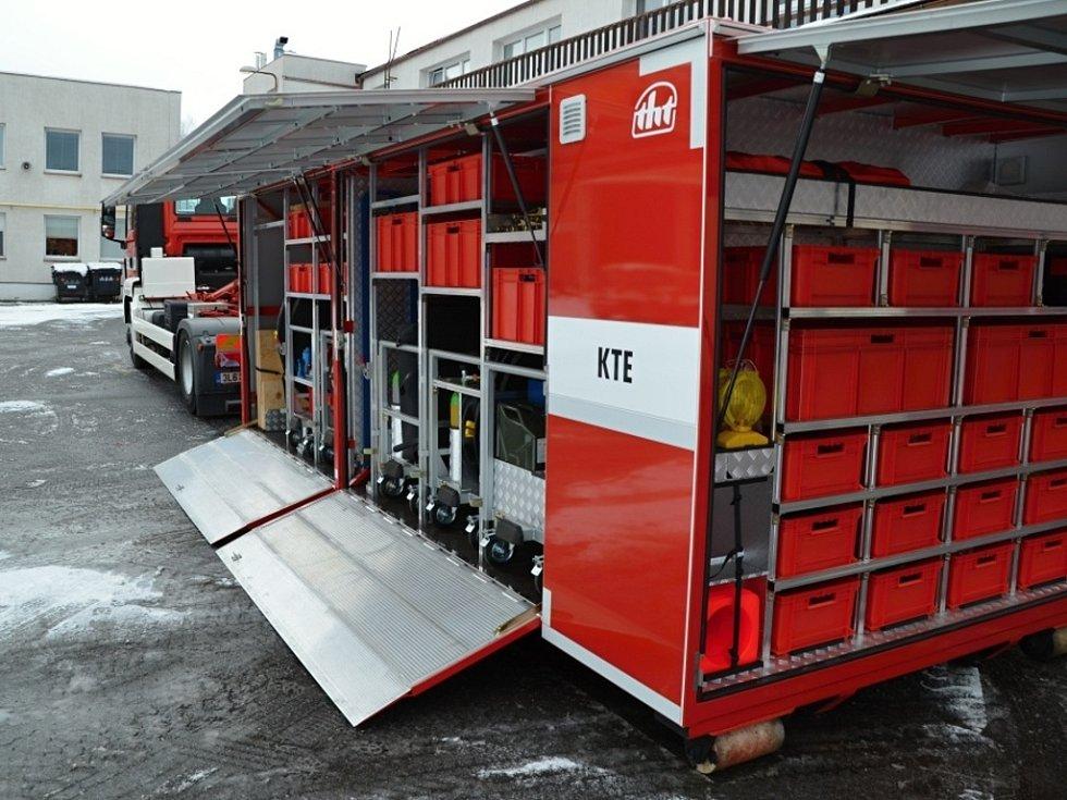 Technický kontejner.