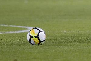 Fotbalový míč. Ilustrační foto.