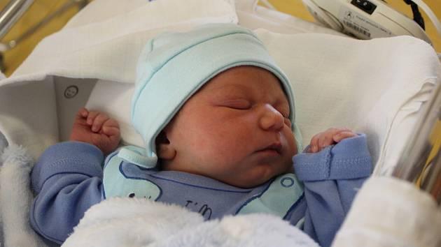 Narodil se 3. dubna v liberecké porodnici mamince Lindě Lopauerové z Frýdlantu. Vážil 3,2 kg a měřil 48 cm.