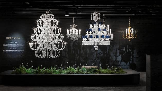 Český křišťál rozzáří prostory Shanghai Home Expo v Tiamantti, centru luxusního nábytku a bytových doplňků.