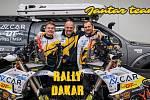JANTAR TEAM. Liberecký závodník David Pabiška se chystá na Dakar do Saudské Arábie.