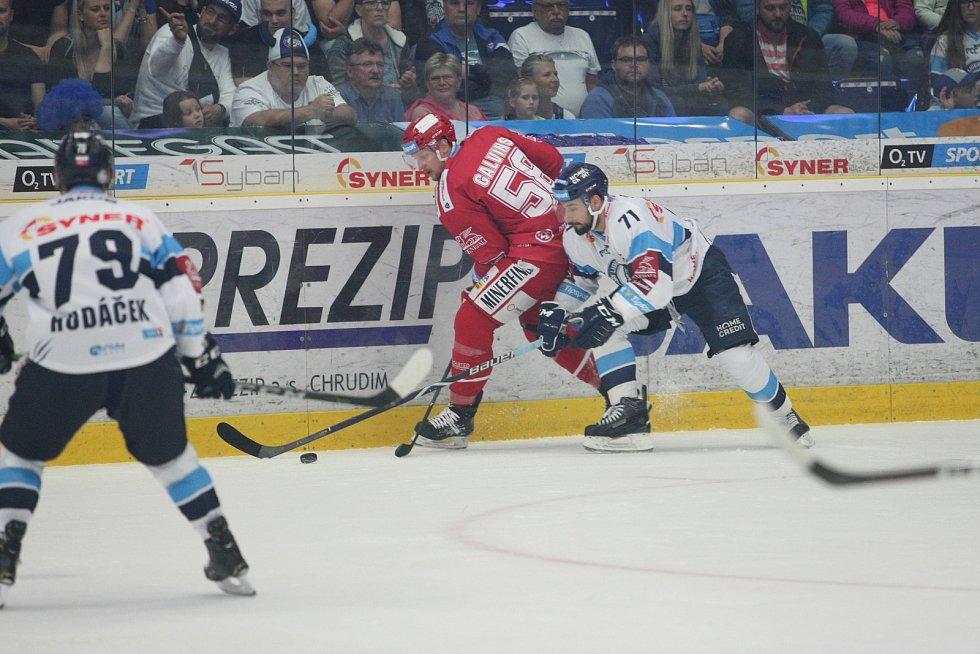 5. finále hokejové extraligy mezi HC Bílí Tygři Liberec vs. HC Oceláři Třinec