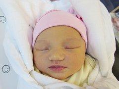 KAROLÍNA JANÁČKOVÁ Narodila se 11. září v liberecké porodnici mamince Tereze Hajlekové z Liberce. Vážila 3,06 kg a měřila 48 cm.