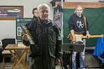 Vysazení pamětního stromu se uskutečnilo 23. října v Liberci v rámci oslav 50. výročí vyhlášení Chráněné krajinné oblasti Jizerské hory. Na snímku je Siegfried Weiss.