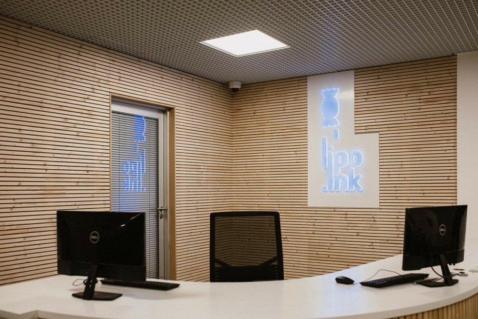 Podnikatelský inkubátor Lipo.ink má nové zázemí