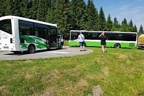 Elektrobus z Tanvaldu na Smědavu vyjede poprvé v sobotu.