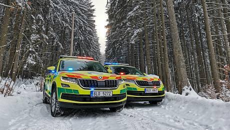 Krajská záchranka má nové lékařské vozy. Auta míří do provozu
