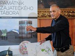 David Vávra představil svůj návrh kaple Smíření.