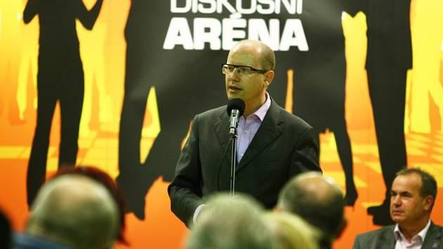 Bohuslav Sobotka v Liberci