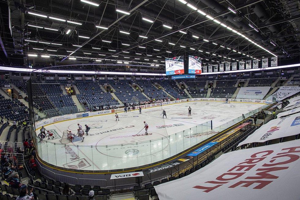 Bilí Tygři Liberec - HC Oceláři Třinec  (II. třetina ) 2:0