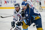 Utkání 46. kola WSM ligy ledního hokeje se odehrálo 3. února v liberecké Home Credit areně. Utkaly se celky HC Benátky nad Jizerou a Rytíři Kladno. Na snímku vpravo je Jaromír Jágr.