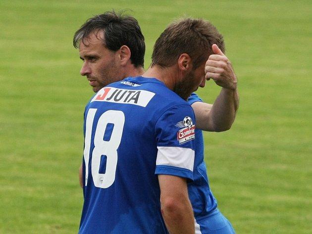 TŘIKRÁT PROTI BOHEMCE. Na snímku je asistent trenéra Tomáš Janů střídající Branislava Obžeru.