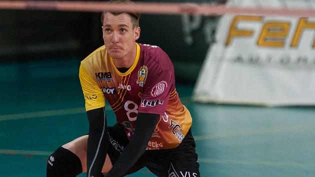 Petr Šulista - volejbalista liberecké Dukly.