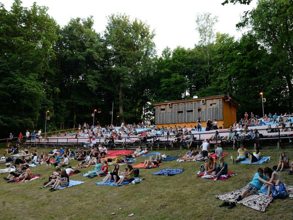 Letní kino v Jablonci nad Nisou.