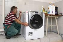 Ilustrační snímek. Pračka.