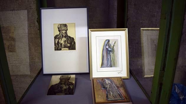 V Německu začala výstava grafických listů Salvadora Dalího.
