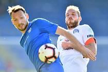 Libor Kozák vstřelil v duelu se Slováckem tři góly