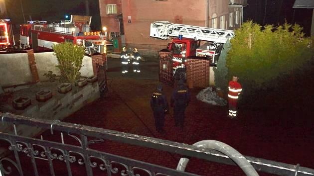 Při požáru v Harcově zemřel muž
