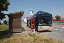 Autobusová zastávka v Liberci. Ilustrační foto.