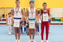 NEJLEPŠÍ V KATEGORII VS2. Zleva: Tomáš Bradáč, Radek Nový, Adam Sameš.
