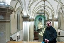 KOSTEL SV. ANTONÍNA VELIKÉHO V LIBERCI by se mohl stát duchovním i kulturním centrem města, říká farář Radek Jurnečka.