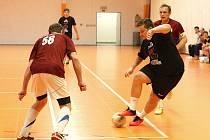 ZLEJ SE(N) ÚTOČÍ. Proti Inter Intermě B si vítězové zastříleli a Jakub Děkan (vpravo) přispěl k výhře šesti brankami.