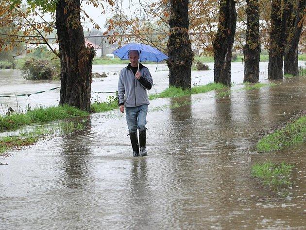 Povodně na Liberecku. Ilustračí foto.