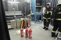 Zásah hasičů v Raspenavě.