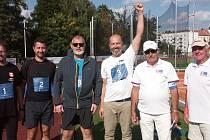 Rekord Ludvíka Daňka, který v roce 1964 hodil 64,55 metrů, v Turnově nepokořili ani letos.