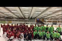 Mládežnický výběr ze třech týmů české mládežnické extraligy