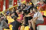 Domácí futsalisté v červeném zvládli bez větších problémů domácí premiéru s Mělníkem, který porazili 4:1.