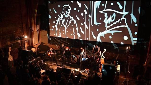 Koncert kapely KAFKA BAND v kině Varšava