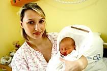 Mamince Lucii Horákové  z Liberce  se 12. února v 1,55 narodil v Liberci syn Max. Měřil 50 cm a vážil 3,44 kg.
