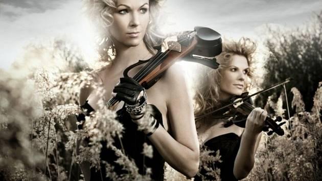 Sychrov očekává krásné houslistky.