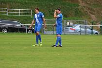 Vpravo Richard Culek, ve stoperské dvojici s Michalem Rozmajzlem.