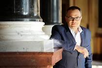 Ředitel České filharmonie David Mareček.