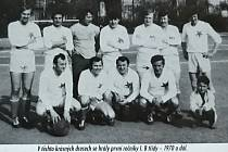 Liberec - Ruprechtic. Na snímku: Ruprechtice I.B třída 1970