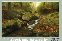Kalendář Zaostřeno na Jizerky 2017.