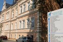 Nemocnice ve Frýdlantě.