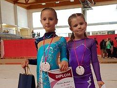 Liberecké moderní gymnastky.
